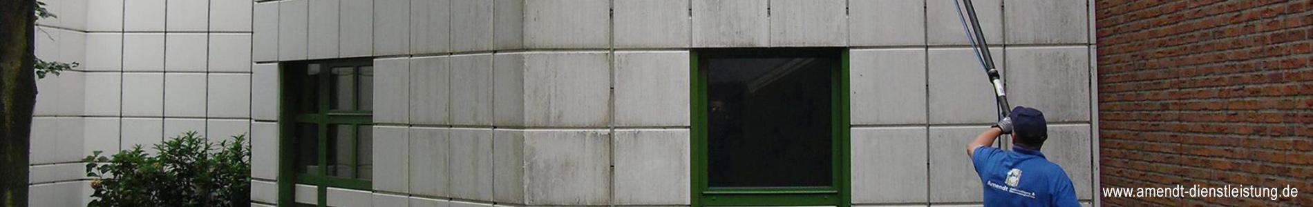 Fassadenreinigung Münster, Amendt Dienstleistungsservice, Gebäudereinigung