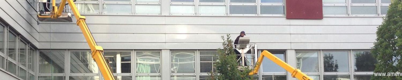 Gebäudereinigung Münster, Amendt Dienstleistungsservice, Fassadenreinigung