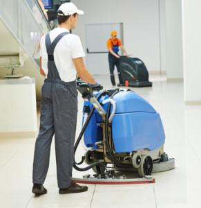 Bauabschlussreinigung-Reinigungsmaschine
