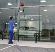 Fassadenreinigung-Schaufensterreinigung