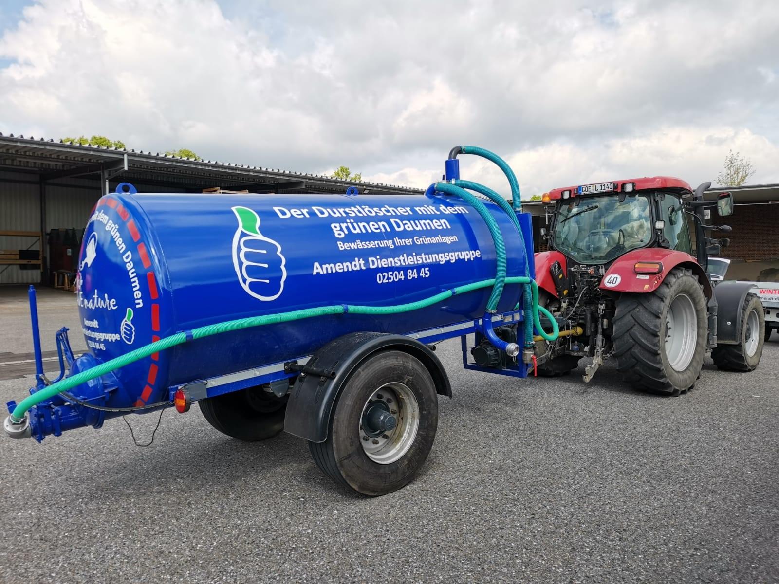 Wassertank, Der Durstlöscher mit dem grünen Daumen, Bewässerung